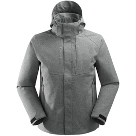 Lafuma Track Loft Veste 3 en 1 Homme, heather grey/black
